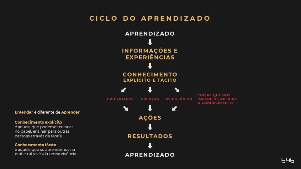 O ciclo do aprendizado 1