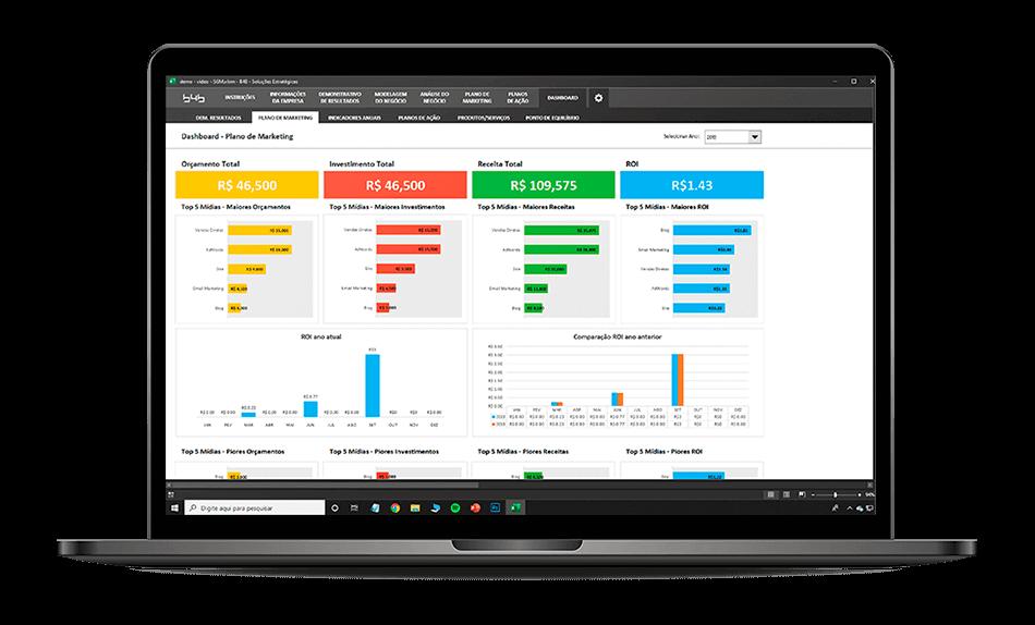Marketfy - Sistema de Gestão de Marketing em Excel 9