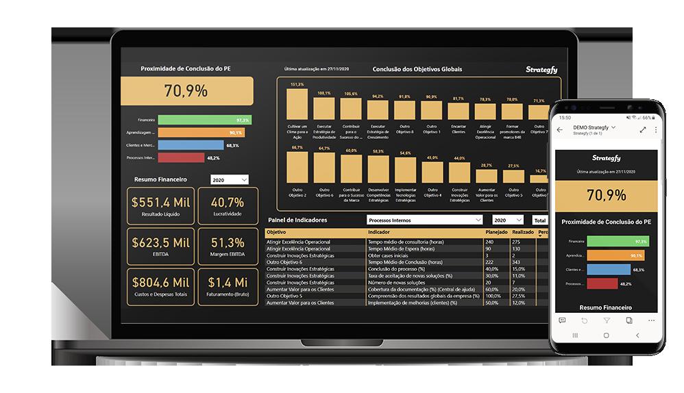 Strategfy - Sistema de Gestão Estratégica em Excel 9